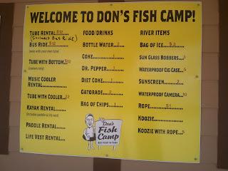 """Don's Fish Camp"" ""san marcos tubing"" SAn marcos river"""