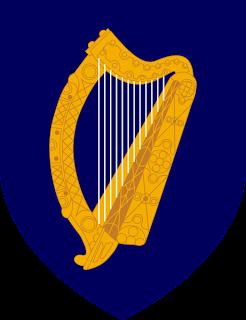 Harpe murmurante  Coat_of_arms_of_Ireland
