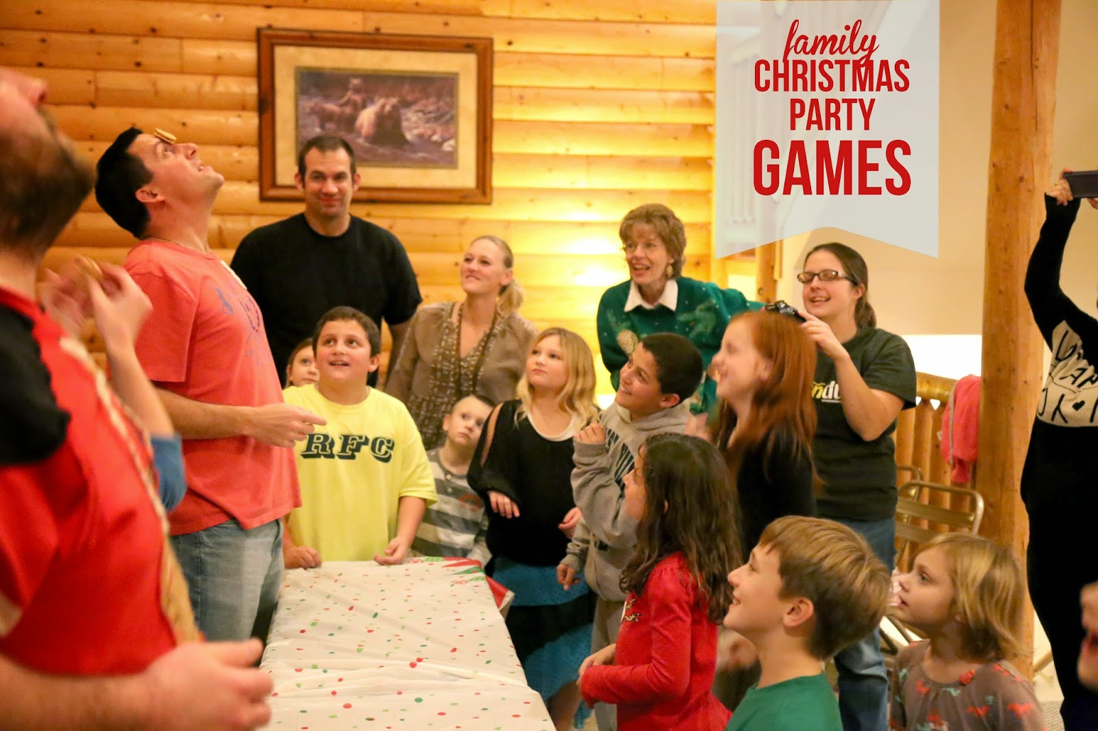 Christmas Party Family Games Ideas Part - 32: Fun Family Christmas Party Games To Try