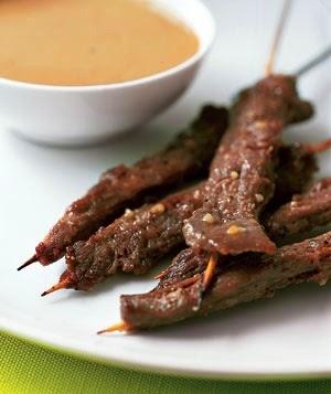 Kusina Master Recipes: Beef Satay With Peanut Sauce