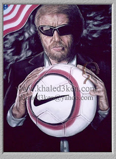 Portrait Drawing Soccer Football Khaled3Ken Gallery AMERICA PHIL KNIGHT