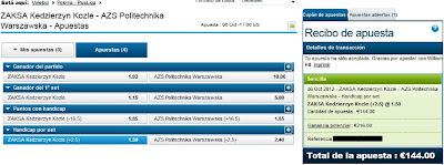 Apuestas Deportivas Rosberg Voleibol – Plusliga/Polonia William Hill
