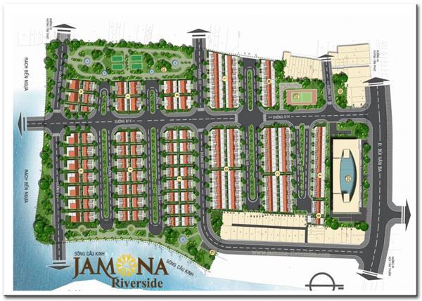 Mặt bằng phân lo dự án Jamona Riverside quận 7