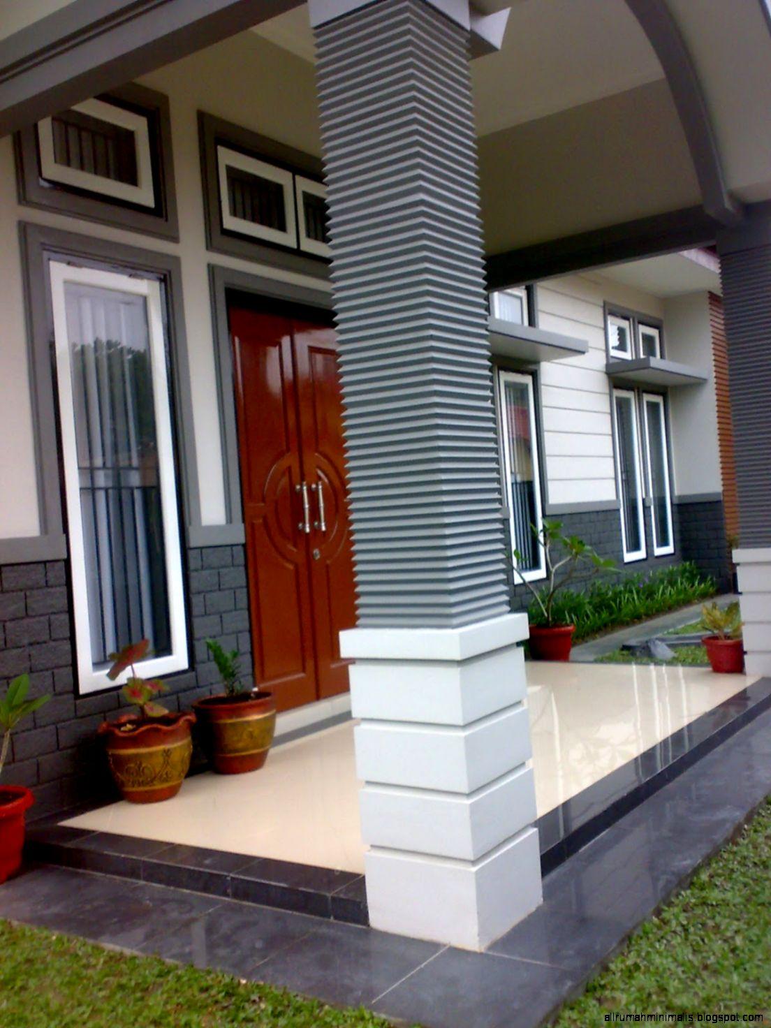 tiang rumah minimalis design rumah minimalis