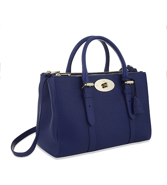 blue bayswater bag, mulberry blue handbag, mulberry small bayswater blue,