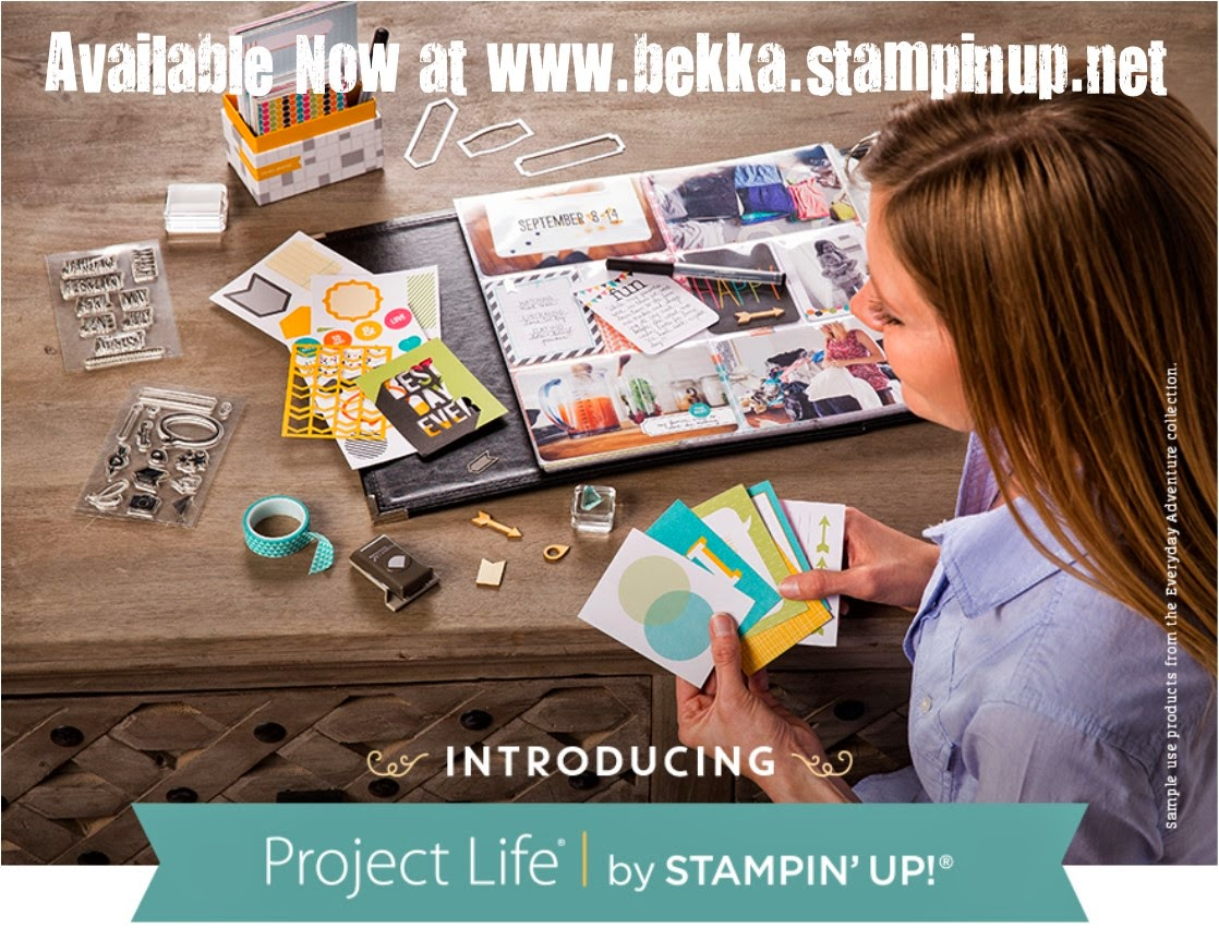 Get Project Life by Stampin' Up! here