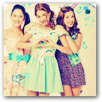 Mejor foto de Violetta, Francesca y Camila