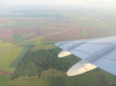 Autostrada Bucuresti Ploiesti din avion