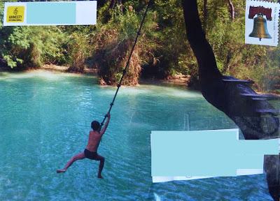 Mail Art Tarzan Swing