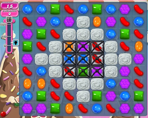 Nivel 46 de Candy Crush Saga