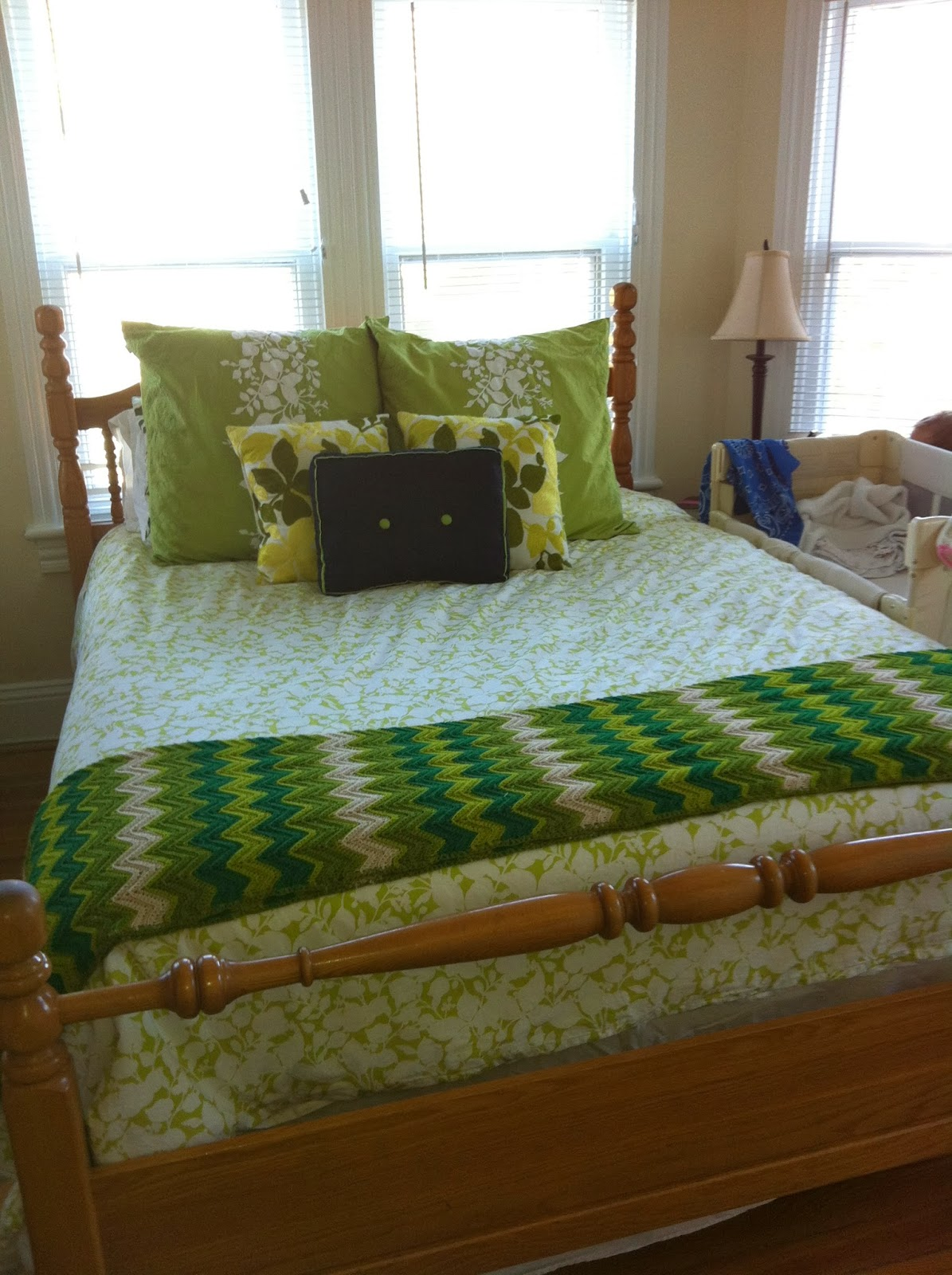 Domestic 360 Master Bedroom Pillows Makeover