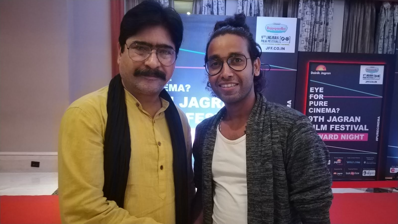 Rajnish BaBa Mehta with Yashpal Sharma