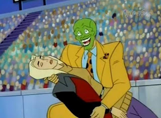 nothing but cartoons the mask the animated series mask au gratin