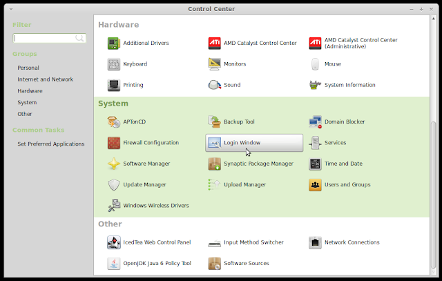 Disable or change login sound in Linux Mint 13