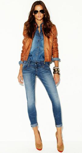 colección jeans mujer 2012 Blanco
