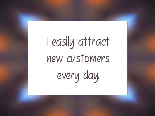 BUSINESS affirmation
