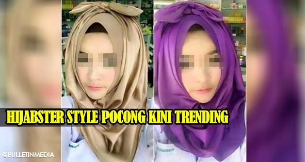Apa Ke Pelik Fesyen Tudung Pocong Pula Menjadi Trending Muslimah