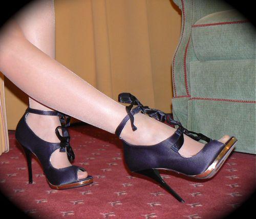 5 inch buffalo high heels