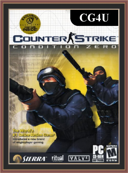 Counter Strike Condition Zero Cover | Counter Strike Condition Zero Poster