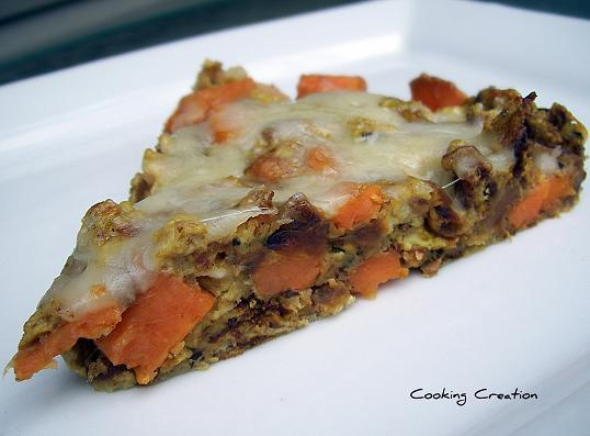 Cooking Creation: Maple Sweet Potato and Caramelized Onion ...