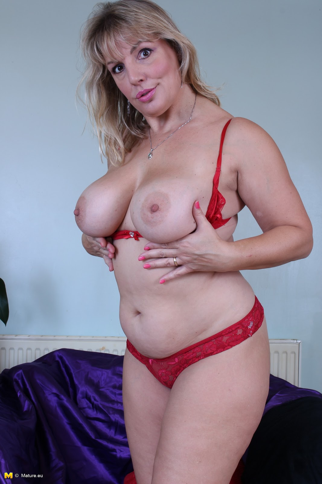 image British milf danielle will let you feast your eyes on her luscious body