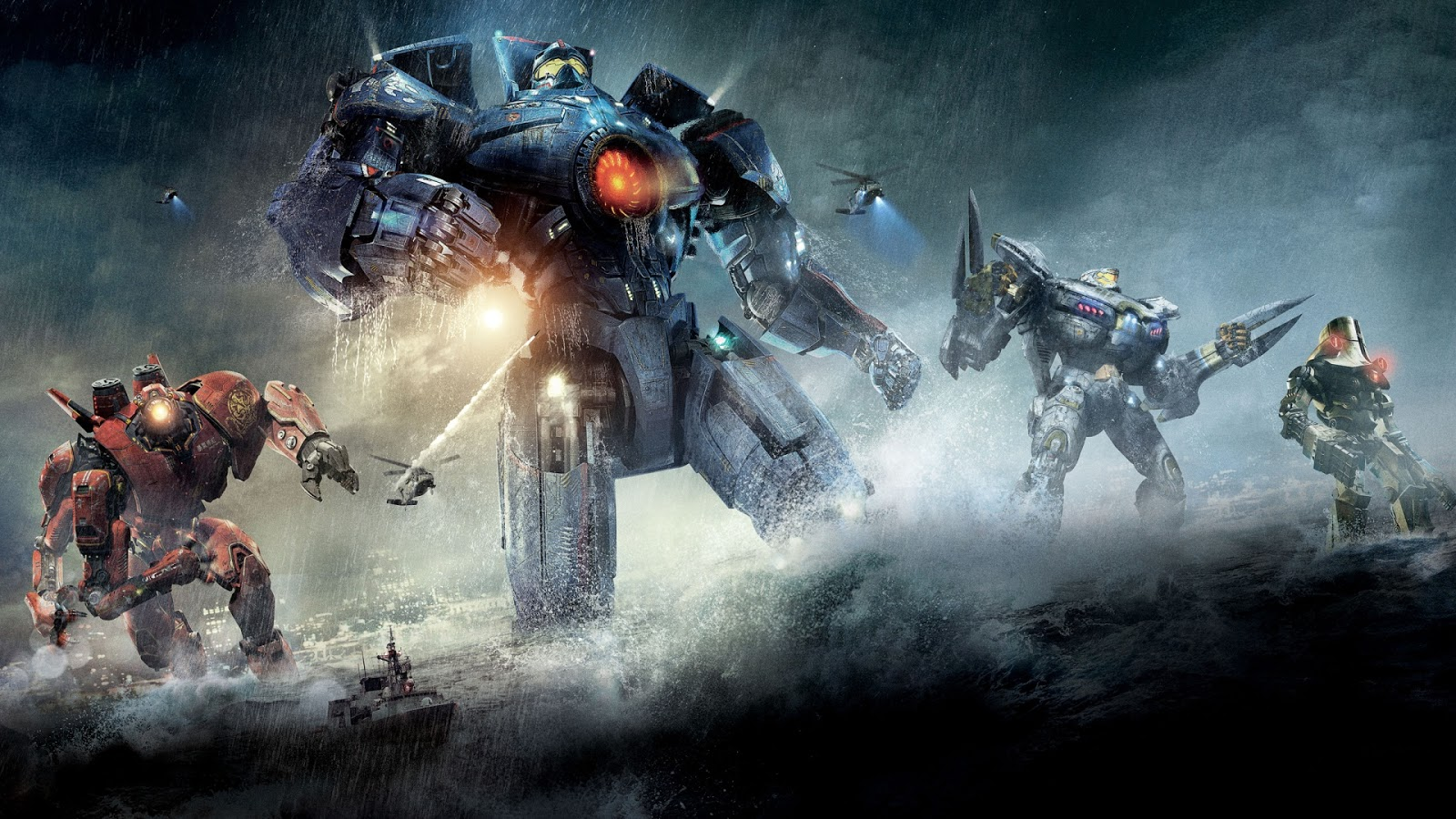 Explore the influences behind Pacific Rim's incredible VFX.