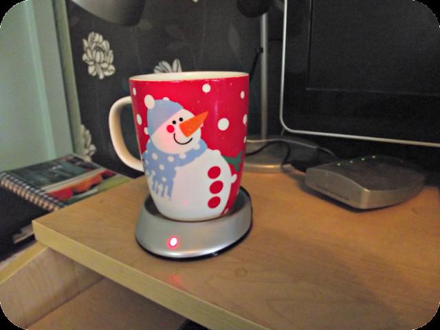 USB Cup Warmer plugged in