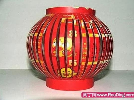 Своими руками бумажный китайский фонарик