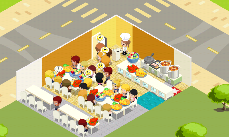 Restaurant story android game