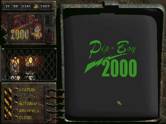 Fallout 2 Pip-Boy 2000