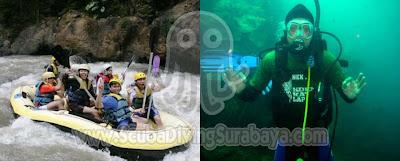 Rafting Pekalen & Pasir Putih Adventure Situbondo
