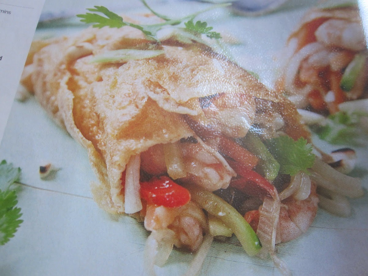 Fat To Fit Prawn Pad Thai Omelette