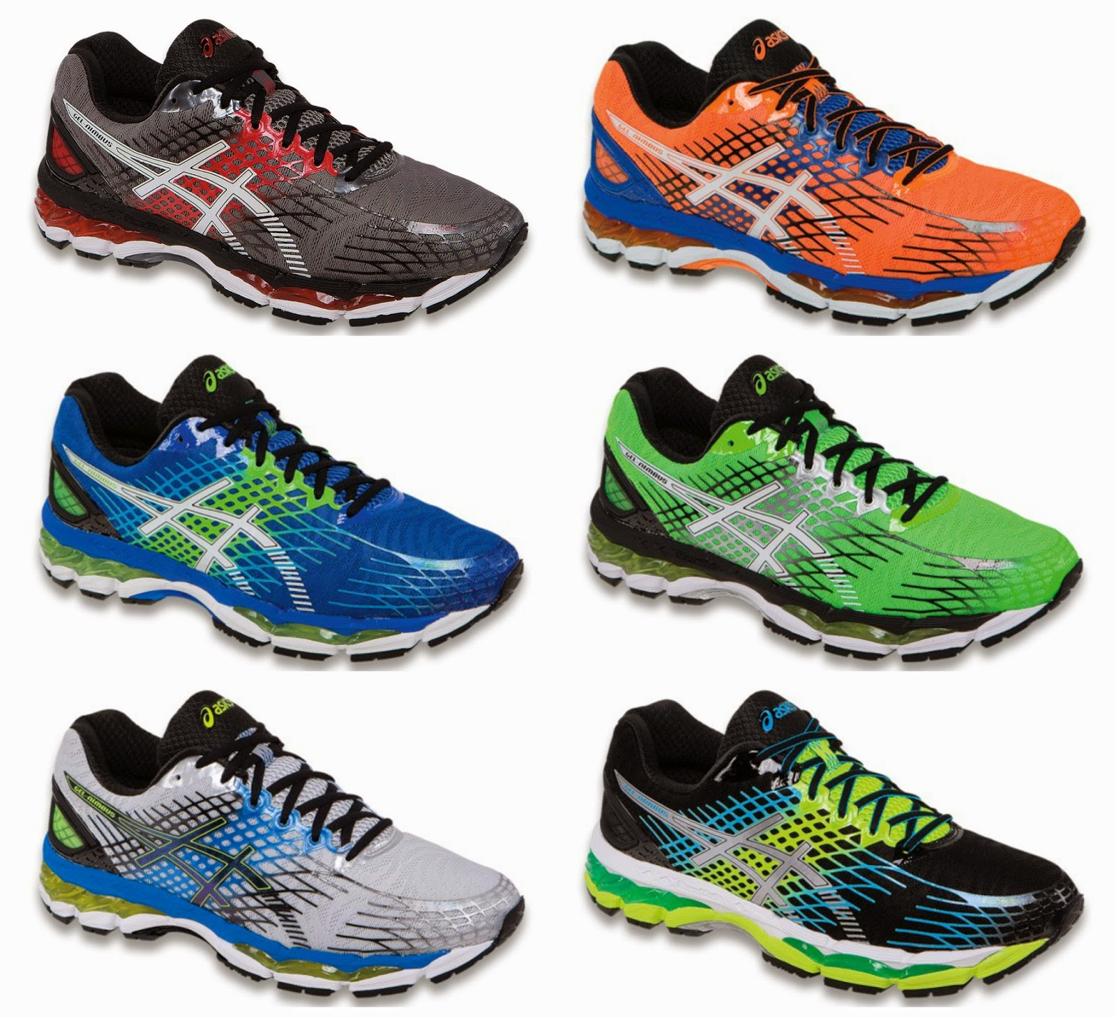 asics running shoes gel nimbus 17