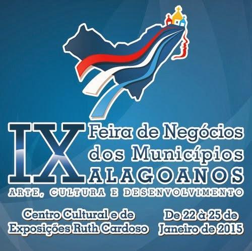 9ª Feira dos Municípios Alagoanos