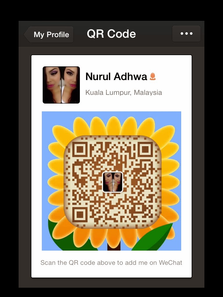 I'm using WeChat, the best way to keep in touch on mobile.
