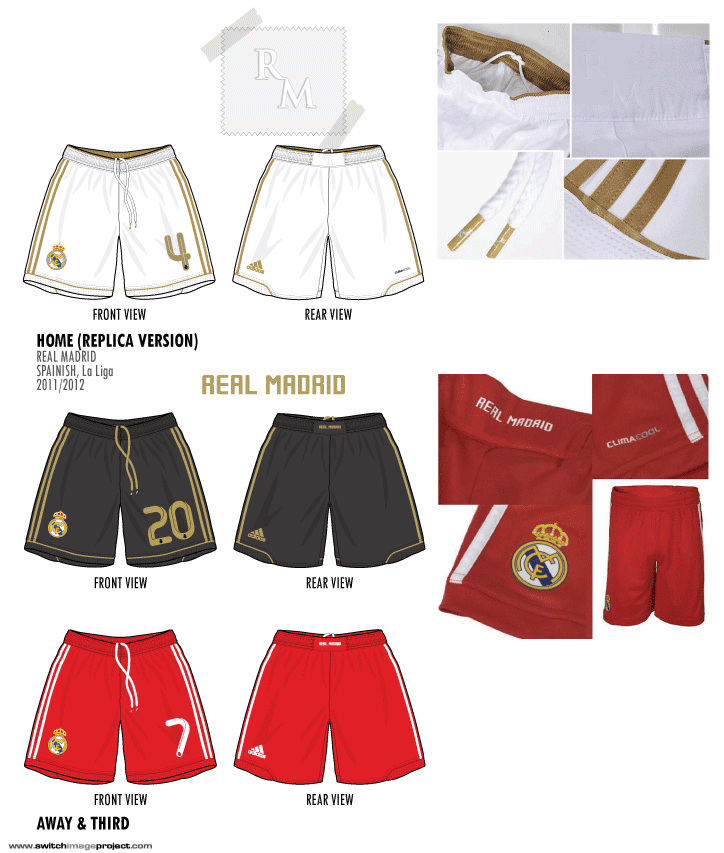 Real Madrid 2011-12 Home kits