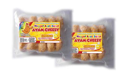 Nugget Ayam Cheesy Cheedar - Anak Sehat Foods