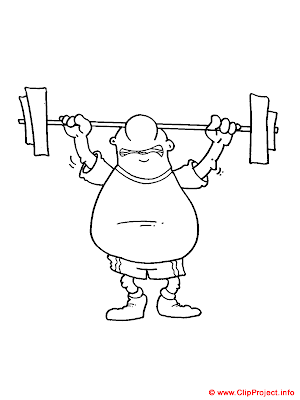 lifter sports coloring pages