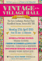 next date FOR vintage at the village hall
