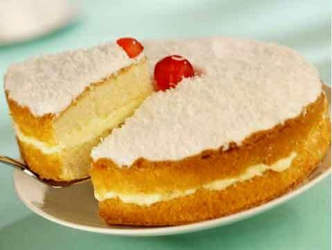 طريقة تحضير كعكة جوز الهند