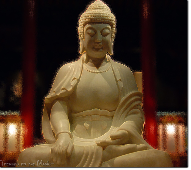 Buddha statue in Epcot's China Pavilion