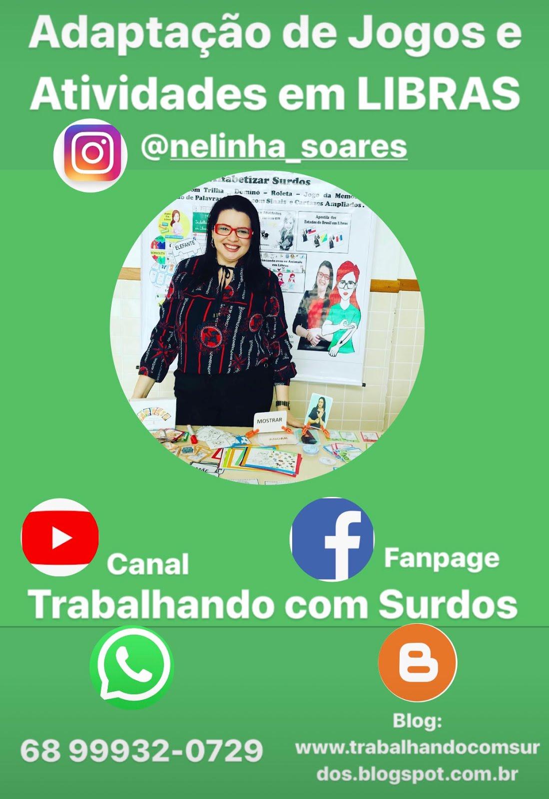 Contato com Nelinha Soares