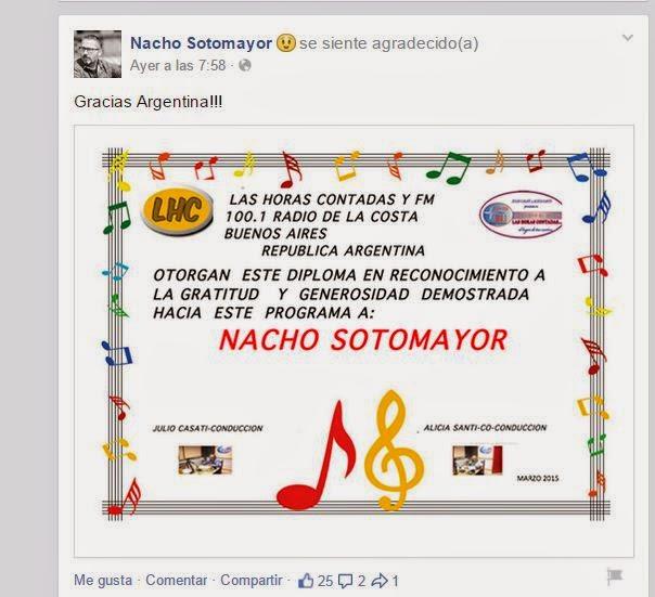 DIPLOMA DE RECONOCIMIENTO AL MUSICO ESPAÑOL