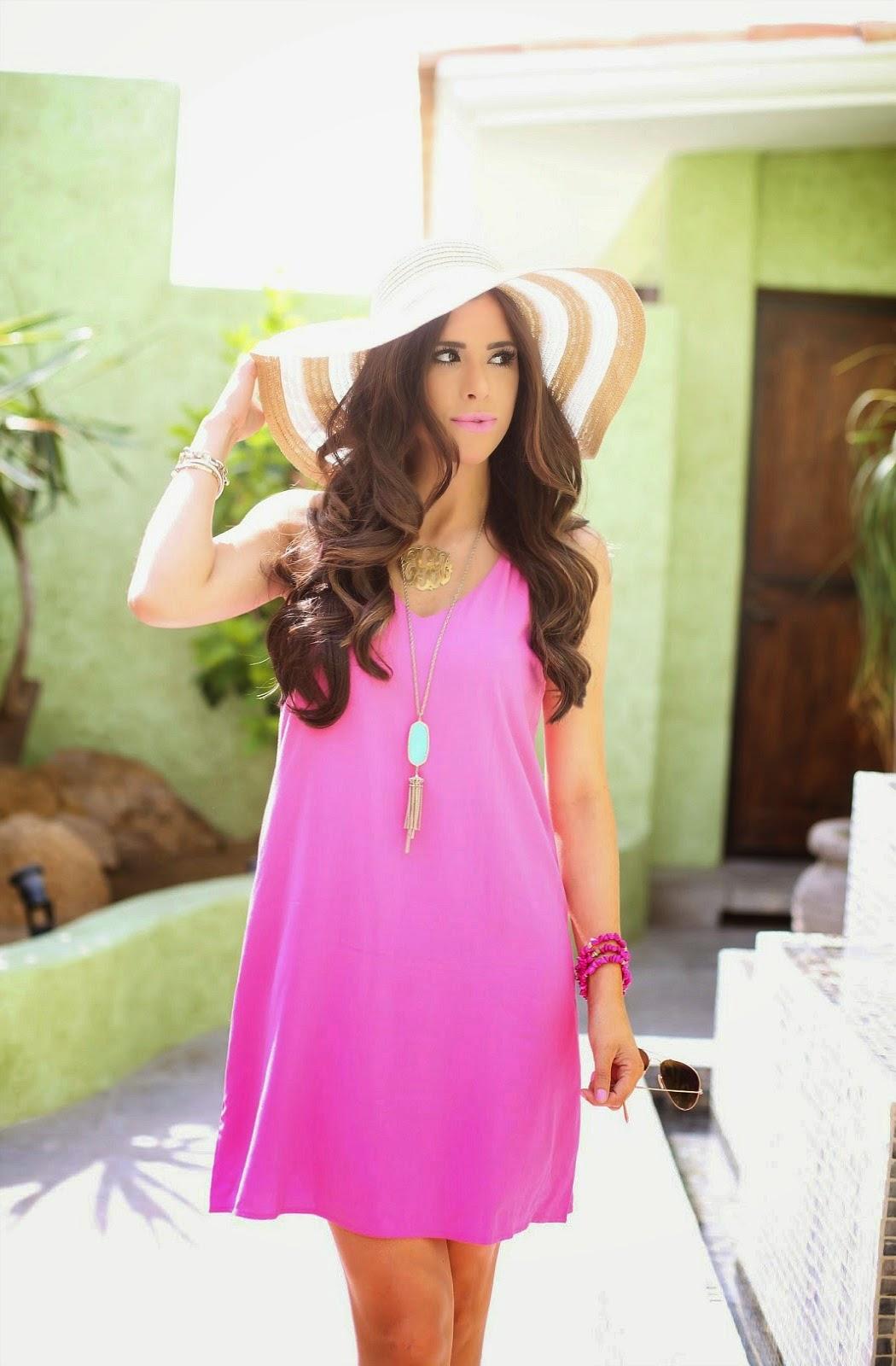 Hot Pink Shift Dress   The Sweetest Thing   Bloglovin'