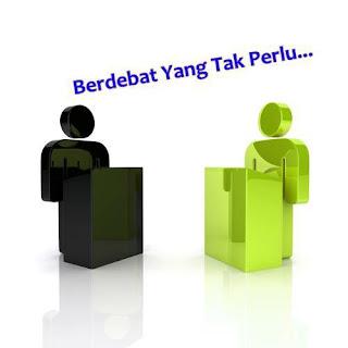 Berdebat Yang Tak Perlu [ www.BlogApaAja.com ]