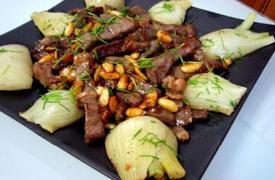 اللحمة باللوز والشمرة, طريقة عمل اللحمة باللوز, لحمة, اللوز, الشمرة, شمرة, طريقة عمل اللحمة