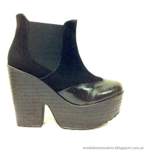 Zapatos y botas colecciones otoño invierno 2014 RH+ Moda 2014.