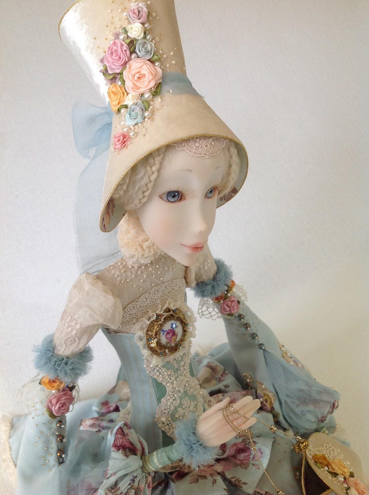 Как сделать будуарную куклу фото 528