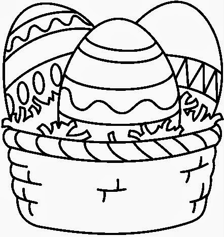 Banco de Imagenes y fotos gratis: Huevos de Pascua para Colorear ...
