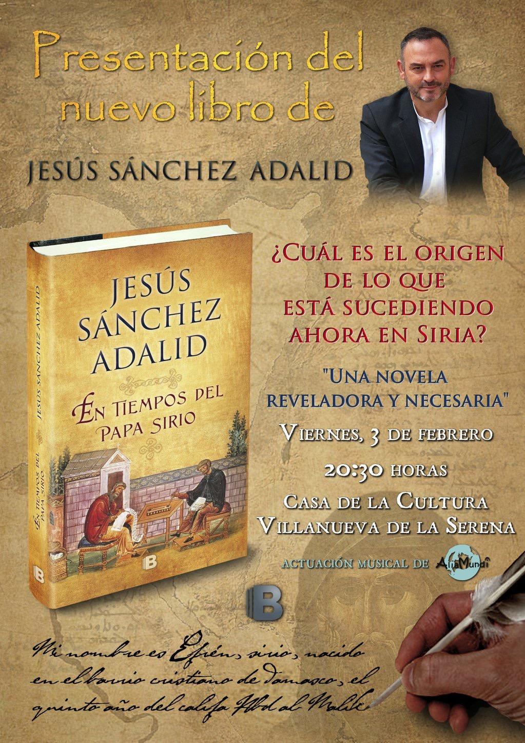 """Presentación del libro: """" En tiempos del Papa Sirio"""""""